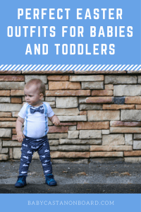 The first official day of spring is tomorrow and that means Easter will be here soon. Here are some of my favorite Easter outfits for babies and toddlers.