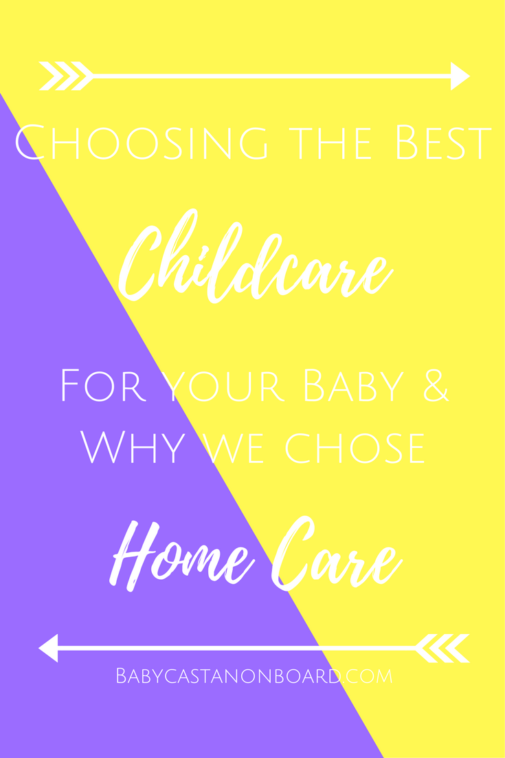 There are many options available for childcare for working parents. We used home care and it worked great for us. This is about our experience.