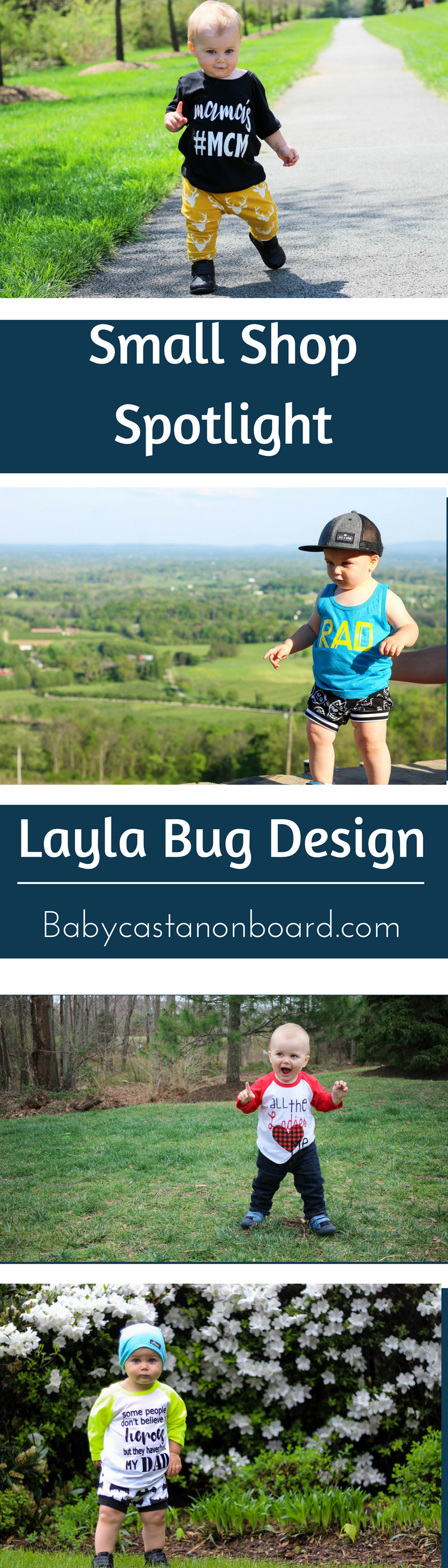 I am spotlighting Layla Bug Designs, an Etsy shop. Layla Bug Designs is my go-to for raglans; however she also has tees, tanks and bodysuits.