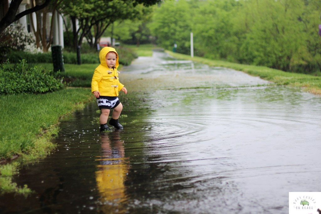 Things To Do With Toddlers: Surviving Spring Showers