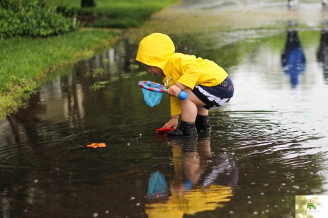 Spring Showers featured by top US mommy blog Baby Castan On Board