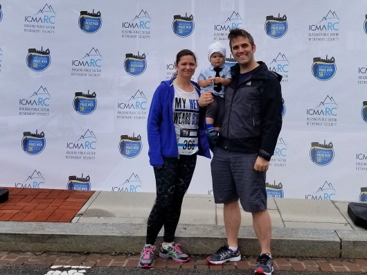 This weekend we ran in the National Police Week 5K and Sunday was Mother's Day. Here is more about this weekend since both events are personal for me.