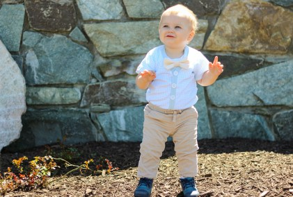 I love supporting small mama owned businesses and sharing them. I am spotlighting Cuddle Sleep Dream. They make special occasion outfits for boys.