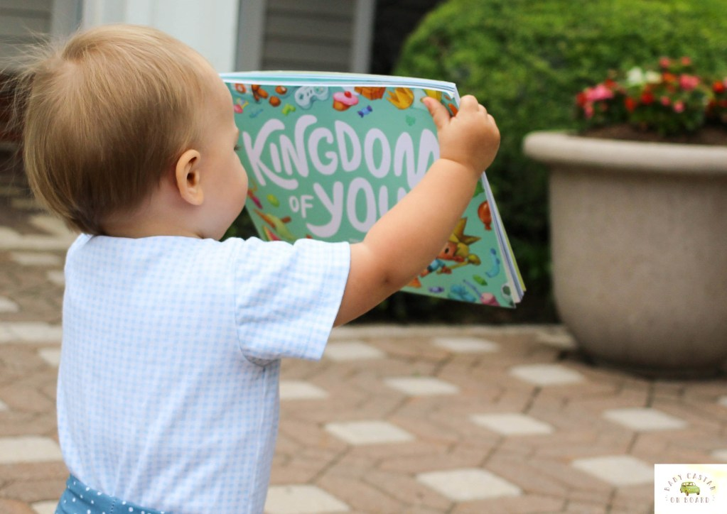 We love giving personalized kid's books to our little guy. Here is a review of the new Lost My Name personalized kid's book Kingdom of You. - Kingdom of You Book Review featured by popular DC mommy blogger, Baby Castan On Board