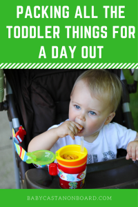 If you have taken toddler anywhere outside your home you have probably realized how man things you need to bring. Here are tips for packing toddler things.