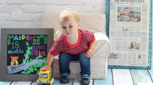 Happy 18 Months! Aiden's 18 Month Update