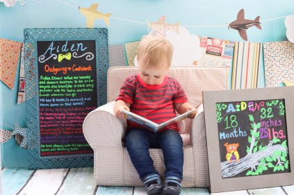 This is our toddler's 18-month update including his favorite things, developments, and milestones.