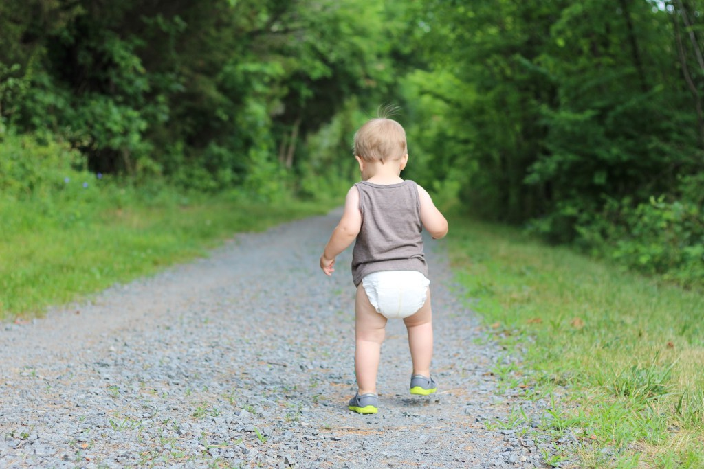 Dewor Bamboo Diapers review featured by popular DC mommy blogger, Baby Castan On Board