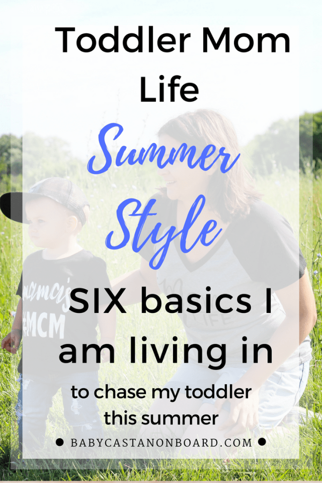 As a toddler mom I am looking for specific things when it comes to clothes. These are my toddler mom life summer style must haves.