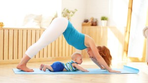 Yoga for and with Babies