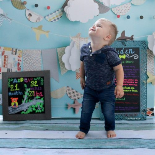 This is our son's 21-month update. We have seen his greatest development, by far, in the last three months, especially in language skills. Happy 21 months Aiden featured by popular DC mommy blogger, Baby Castan On Board