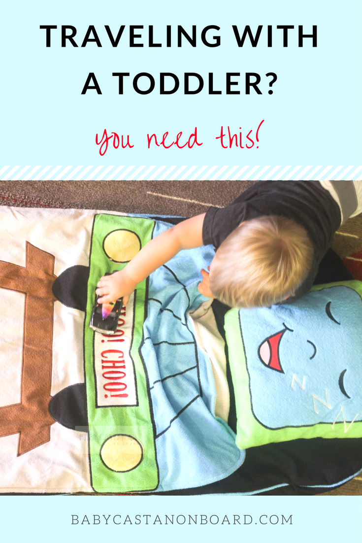 I want something comfortable and portable that my toddler can use to take naps while we are on the go.The SnooZieMat is a perfect nap-on-the-go solution.