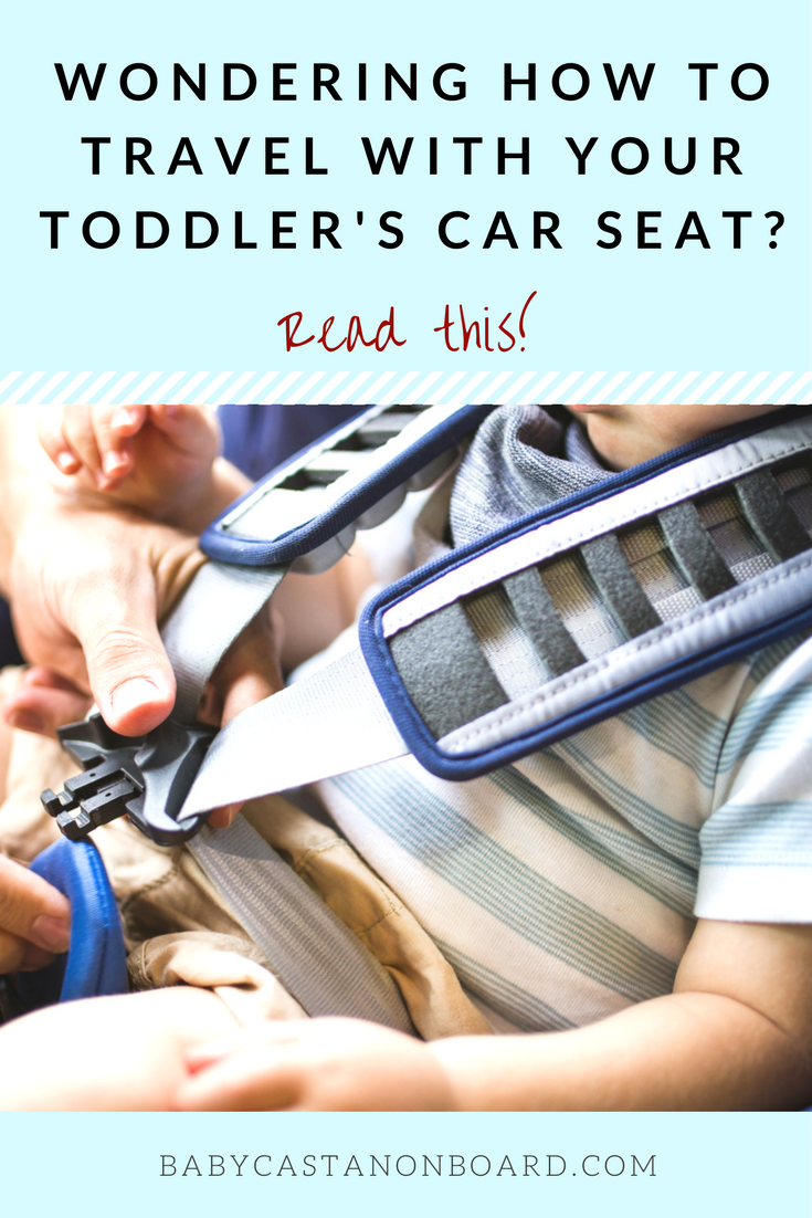 Traveling with a toddler car seat does take some extra effort but it's no reason not to travel. Here are tips for travel and vacation with a convertible car seat. #travel #familytravel #momlife #toddler