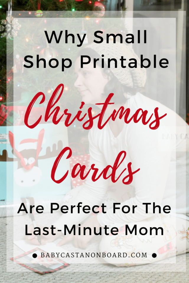 Last minute christmas cards baby castan on board how to make your own christmas cards do it yourself holiday cards printable holiday solutioingenieria Gallery