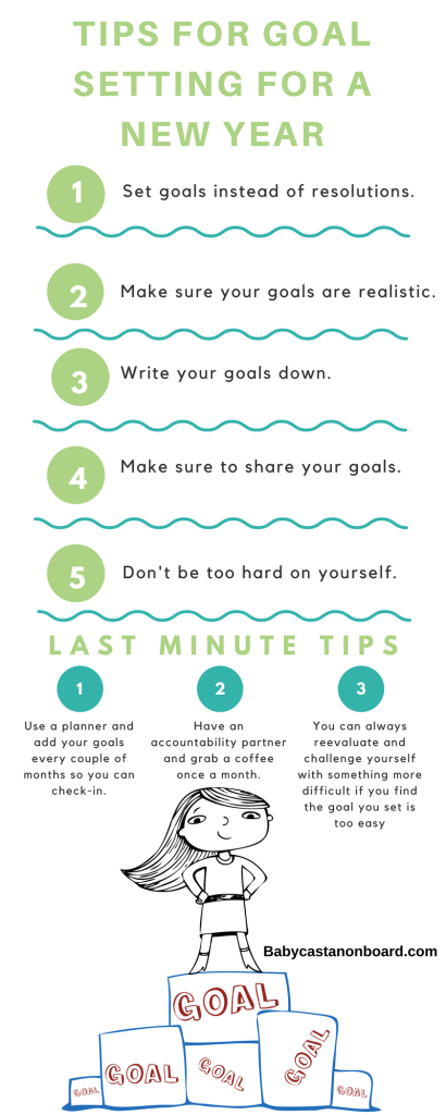 Tips for Goal Setting For a New Year
