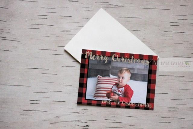last minute Christmas Cards-flatlay