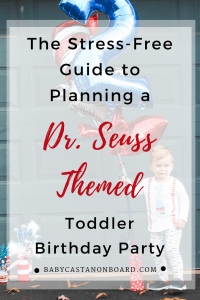 Dr. Seuss party decorations | Dr. Seuss party food | Dr. Suess Party DIY | Dr. Seuss Party Printables #momlife #kidsparty #toddler #DIY