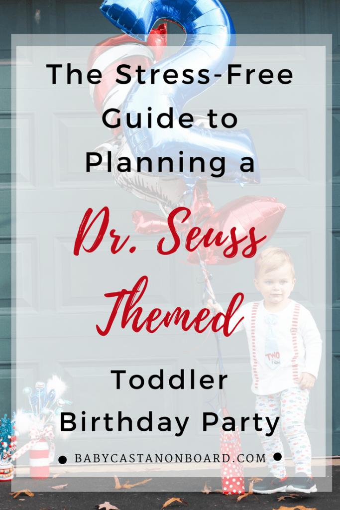 Dr. Seuss Themed Birthday Party
