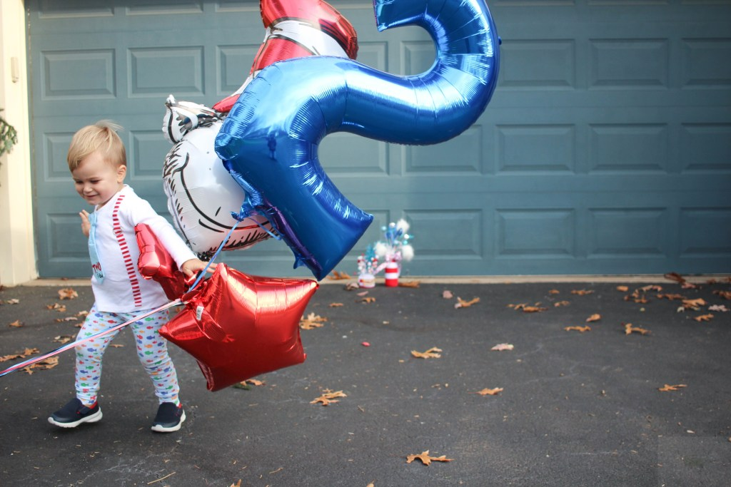 A Fun & Colorful Dr. Seuss Themed Birthday Party