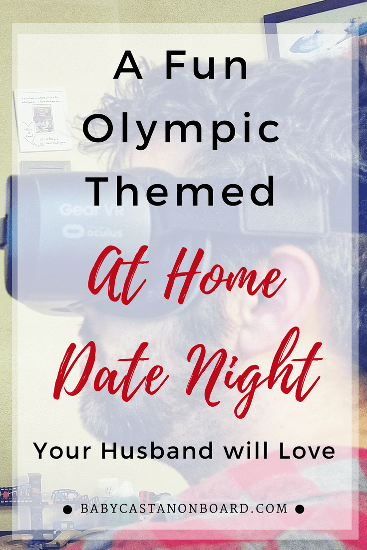 Date night idea Watching the Olympics with Intel True VR DC lifestyle blogger Baby Castan on Board #datenight #momlife #newmom #dateidea #daydate #olympics