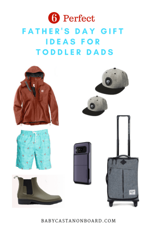 Father's Day Gift Ideas for Toddler Dads by popular DC mommy blogger Baby Castan on Board