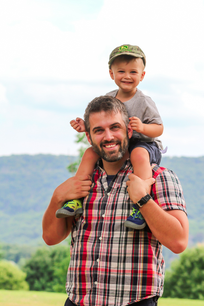 MaxiCosi_Dad and Toddler Fun at Harpers Ferry