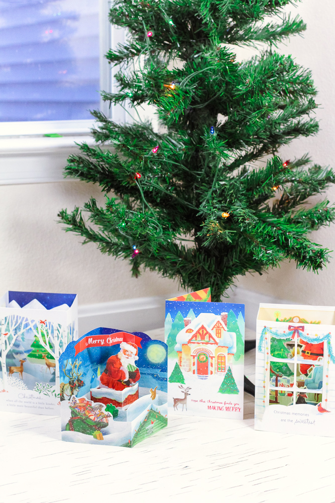 Celebrating Holiday Traditions with Hallmark Holiday Cards at Walmart featured by top DC lifestyle blogger Baby Castan on Board
