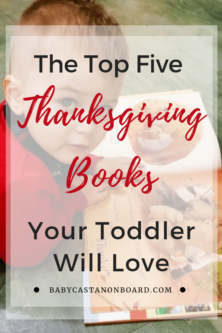 Thanksgiving Books for Toddlers pin