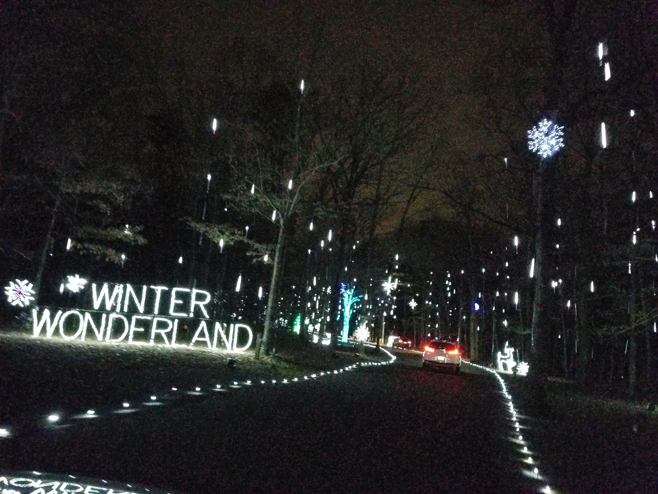 Christmas Lights in Washington DC You Don't Want to Miss featured by top DC blog, Baby Castan on Board: image of Bull Run Walk of Lights
