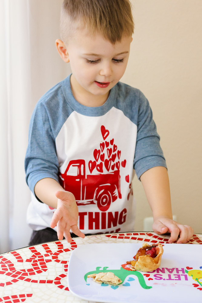 Valentine's Day Treats_Toddler showing pie