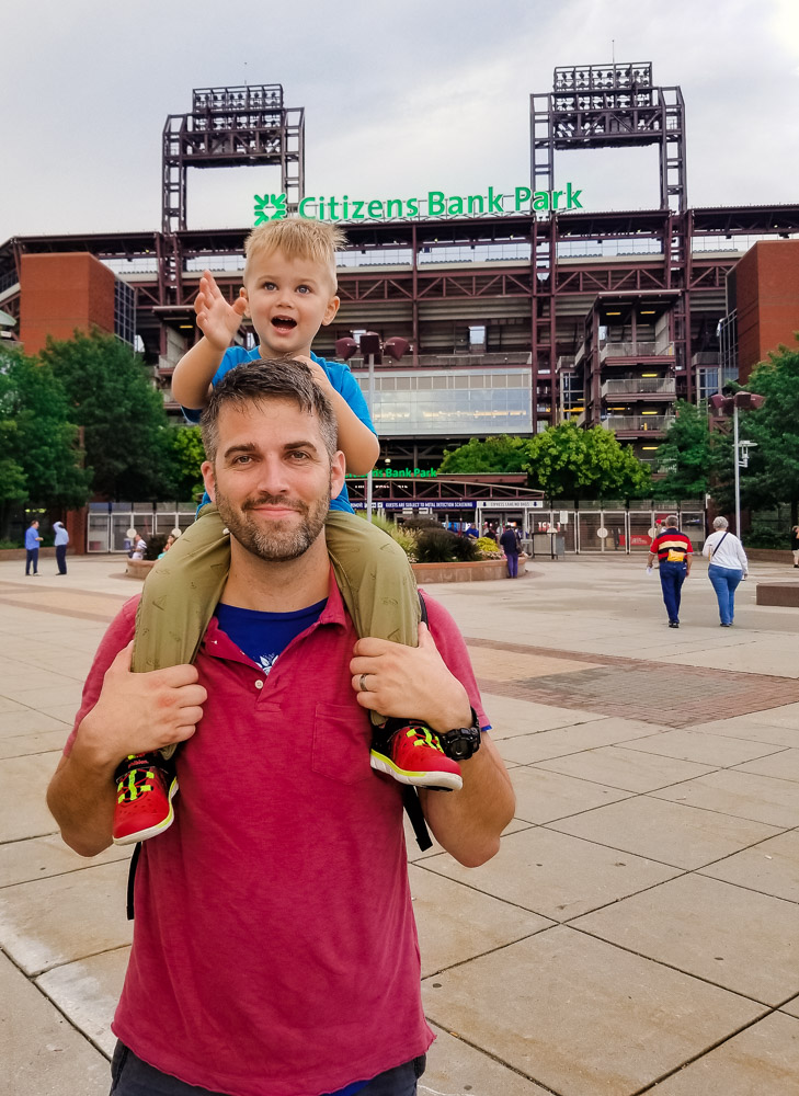 Philadelphia Phillies Stadium Tour: Tips to Bring Your Toddler to a Baseball Game