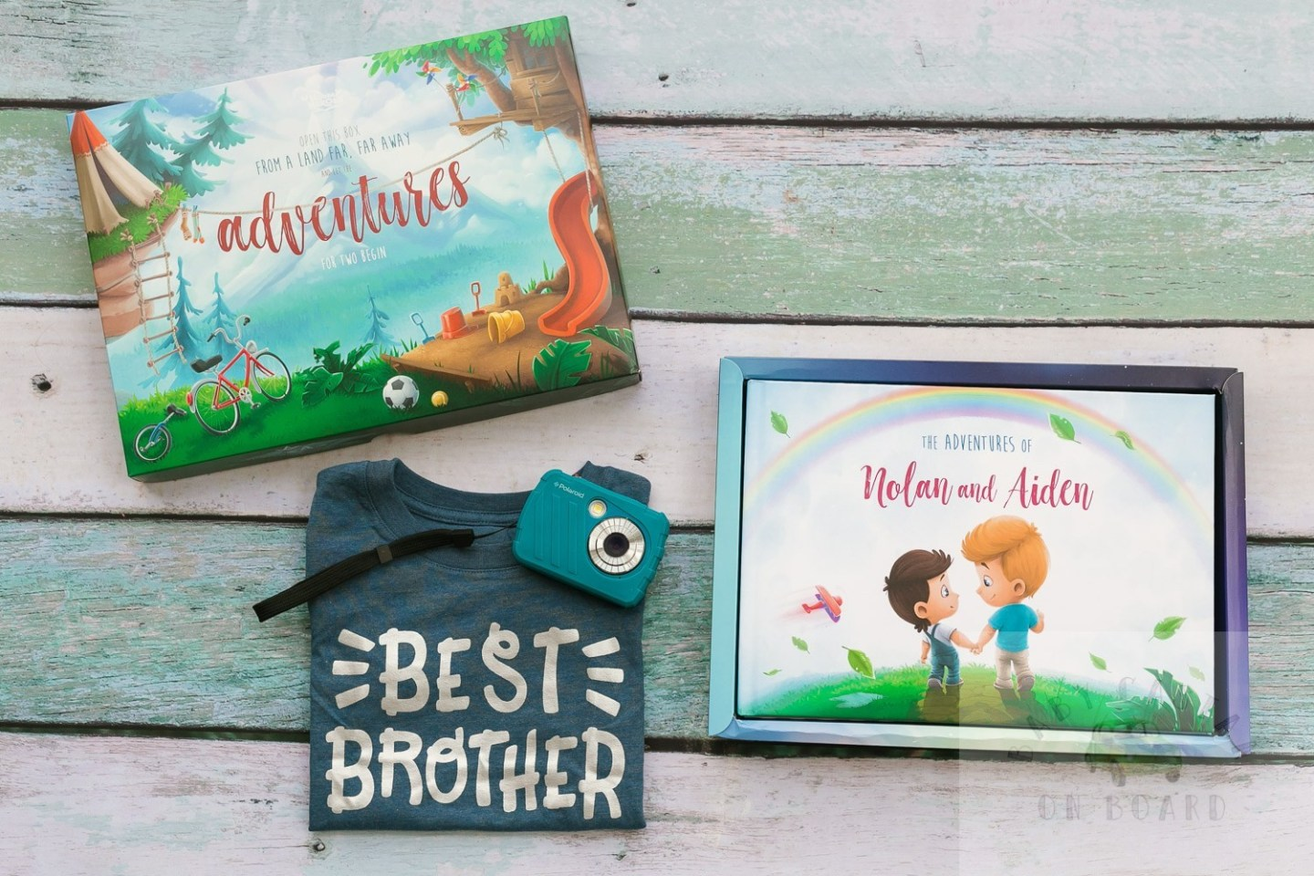 The Perfect Hospital Gift From Baby to Big Brother featured by top US mommy blog, Baby Castan on Board