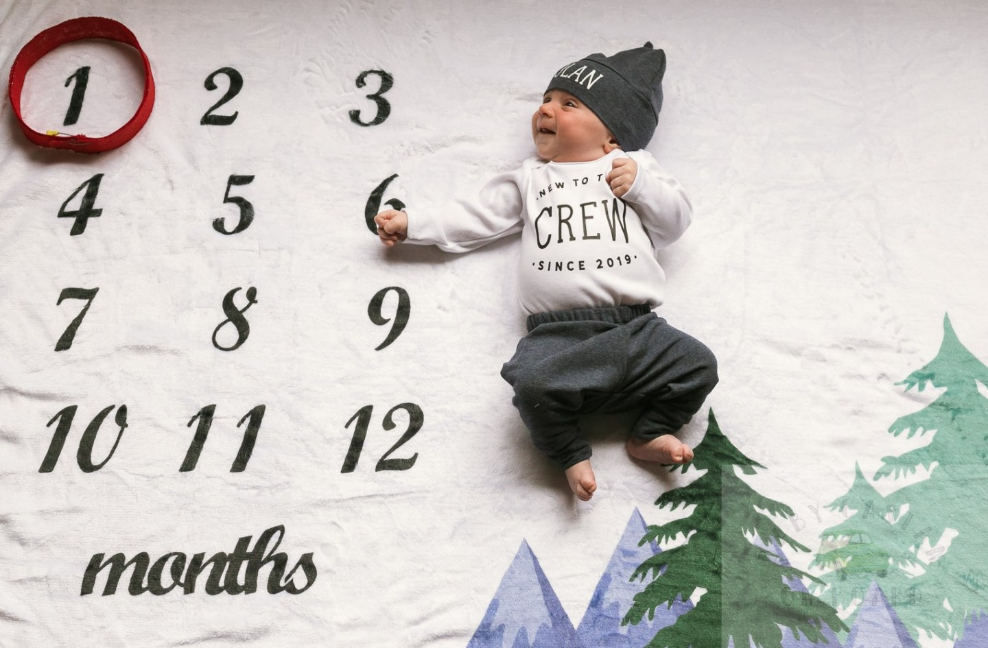 The First Month With Two: Nolan's One Month Old Baby Update
