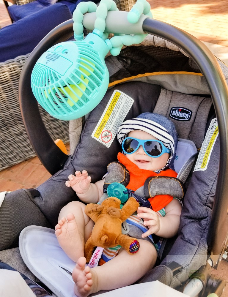 How to Keep a Newborn Cool in the Heat this Summer