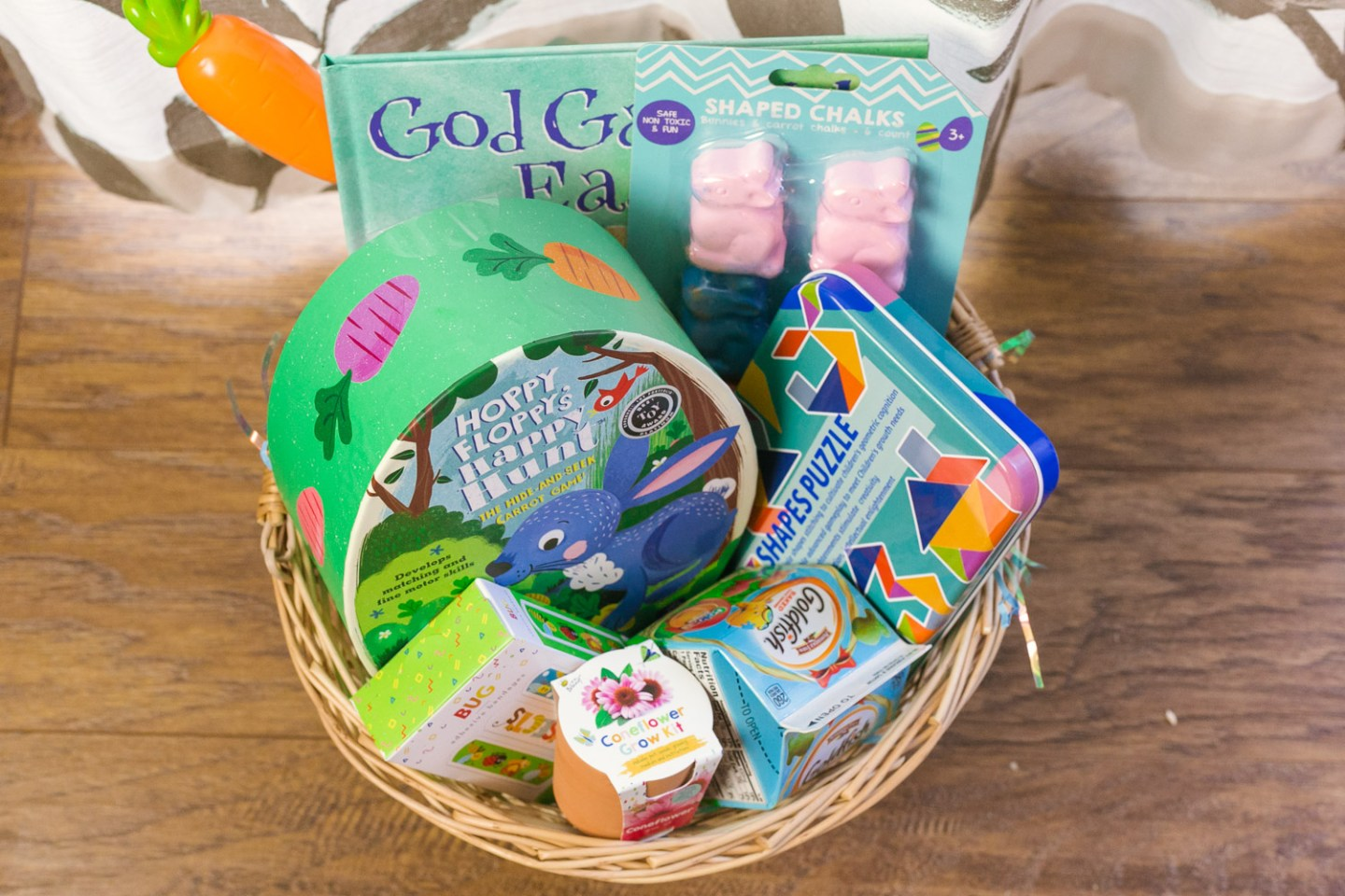 Fun Easter Basket Ideas for Preschoolers featured by top DC mommy blog, Baby Castan on Board.
