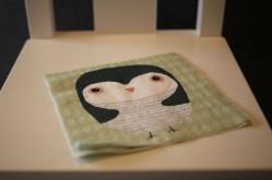 Une serviette de table en papier