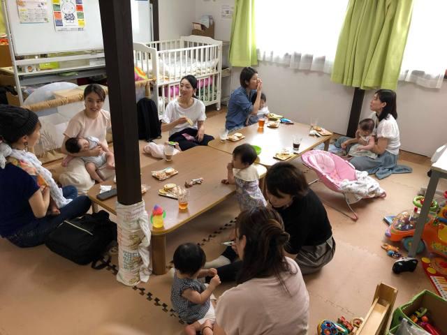 季節の親子撮影会・交流会の様子