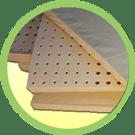Natural Mattress Pad in Baby Box