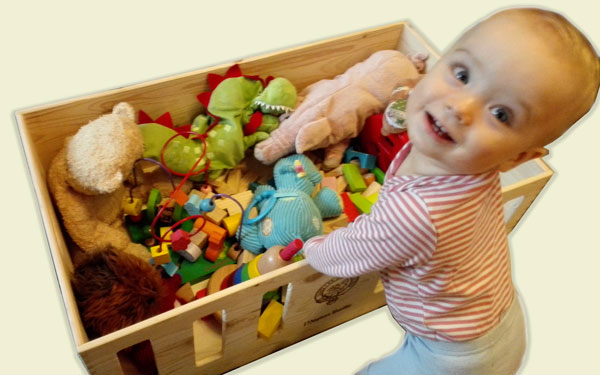 Baby Box Toy Box