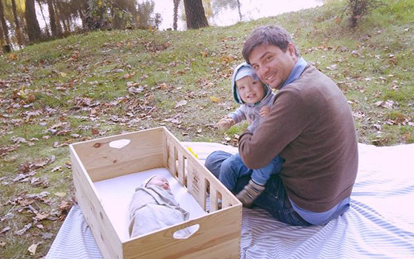 Baby Box in Nature