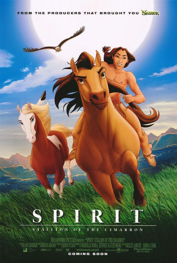 Spirit (Kelly Asbury, Lorna Cook, 2002)  Foto: Dreamworks Pictures