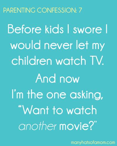 Parenting Confession 7