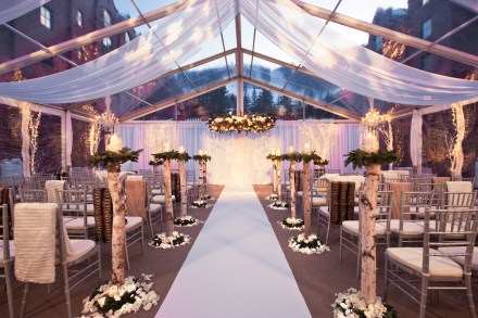 The St. Regis Aspen Destination Wedding