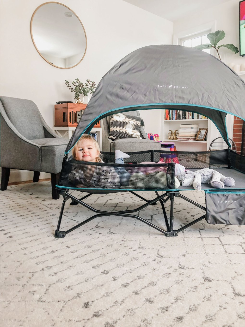Go With Me™ Bungalow Deluxe Portable Travel Cot