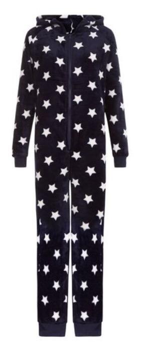 http://www.newlook.com/shop/womens/nightwear/blue-star-print-hooded-onesie_389328049