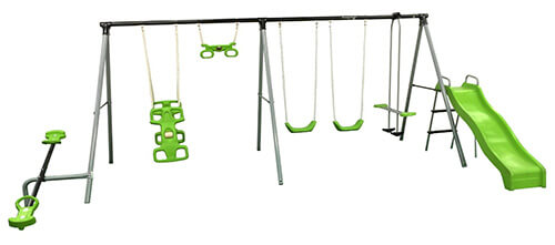 Flexible-Flyer-World-of-Fun-Swing-Set-1