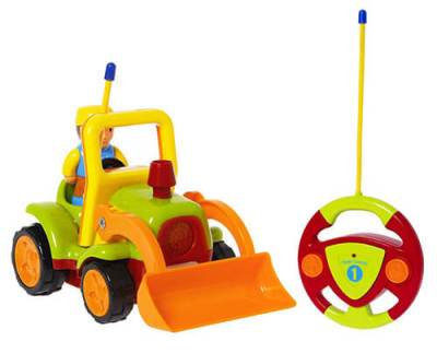 Playtoy-Remote-Control Car-RC-Tractor-Construction-Vehicle-Toy copy