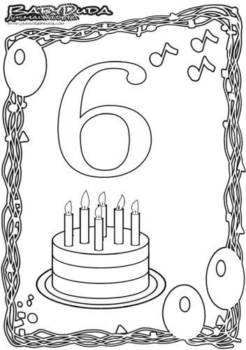 Ausmalbilder Amp Malvorlagen Geburtstag BabyDuda Malbuch