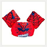ANAN BABY Swim Puddle Jumper Life Jacket floaties for Toddlers 30-65lbs (New Spiderman)