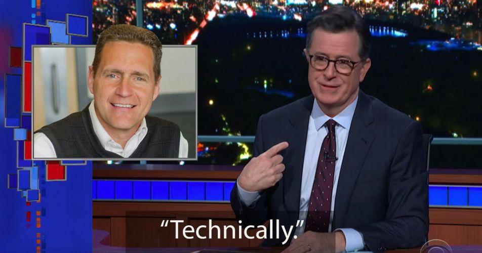 Stephen Colbert — technically a boomer — breaks down the 'OK, Boomer' discourse